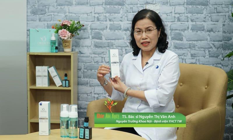 TS Bác Sĩ Nguyễn Thị Vân Anh – Nguyên Trưởng Khoa Nội – Bệnh Viện YHCT TW